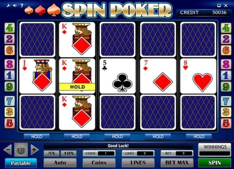Spil poker Zerr